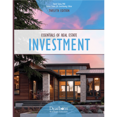 Textbook for Broker Post License Course- Essentials of Real Estate Investment. 12th Edition