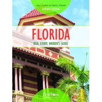 Textbook for Broker Pre-License Course- Florida Real Estate Broker's Guide. NEW 7th Edition