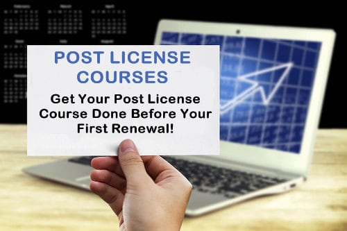 Remember to take your Real Estate Post Licensing Course clickable image
