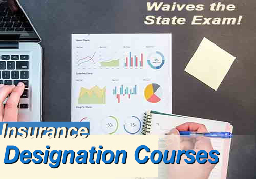 Insurance Designation Courses Passing waives the State Exam! Clickable image