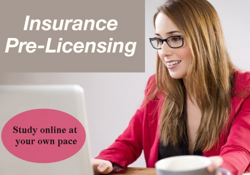 Get Your Insurance License Today! Clickable image